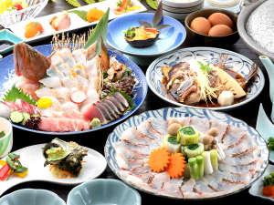 九十九島シーサイドテラス花みずき<温泉・新鮮魚介・送迎あり>