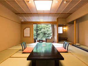 5つの露天風呂の宿 ホテルおがわ:新館湯の庄:ゆったりとした和の造り12.5帖客室