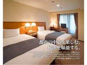 ホテル横浜キャメロットジャパン:ツインルーム