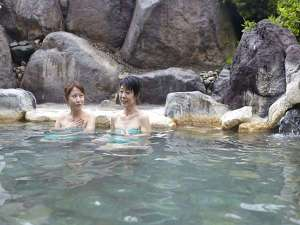佐久一萬里温泉ホテルゴールデンセンチュリー:【温泉大浴場】男女別11種の湯船で湯めぐりください。