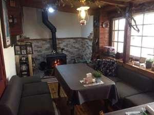ジョバンニの小屋:薪ストーブ