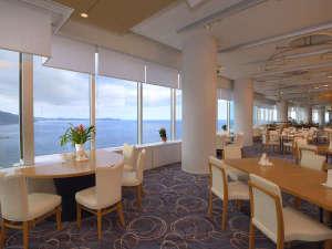 熱海後楽園ホテル:タワー館18階スカイレストラン「TOP・OF・ATAMI」は熱海随一のロケーション★