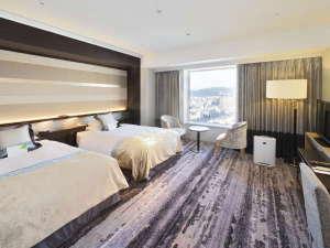 ホテルグランヴィア岡山:2018年2月にリニューアルしたフロア。バス・トイレがセパレートのタイプです。