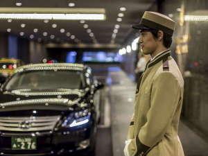 ホテルグランヴィア岡山:ドアマンがお出迎え