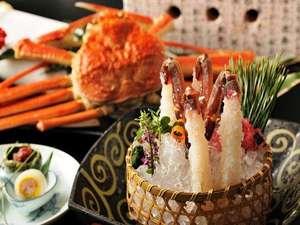 星野リゾート 界 出雲:【冬の特選蟹会席】蒸して、焼いて、揚げて、もちろん刺身でも蟹をご堪能いただけます