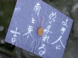 【八重垣神社】鏡の池占いが人気!硬貨をのせた和紙を浮かべて、沈む速さや移動する距離でご縁を見極めよう