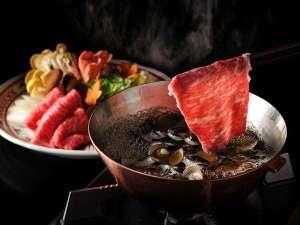 星野リゾート 界 出雲:【しじみ牛しゃぶの特別会席】しじみの滋味スープでいただく牛しゃぶは絶品!