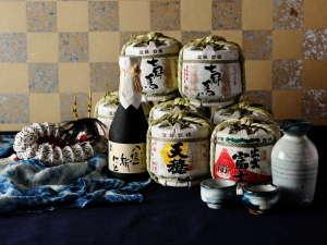 【日本酒BAR】島根の地酒を揃えた酒処をご用意しています