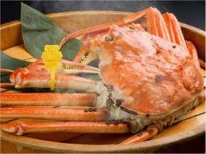 越前ガニの宿 三国温泉 荒磯亭(ありそてい):熱々の茹でたて越前蟹は格別