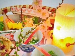 越前ガニの宿 三国温泉 荒磯亭(ありそてい):籠盛り前菜一例
