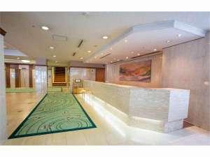 ホテル ニュ-ヒロデン:ホテル 1Fロビー