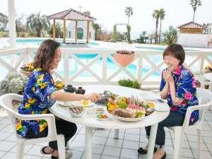 リゾートホテル海辺の果樹園:海賊焼