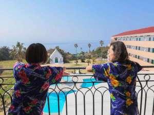 リゾートホテル海辺の果樹園:客室からの風景