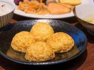 【朝食ビュッフェ】明石焼
