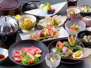 旅亭田乃倉:田乃倉の懐石料理 一例