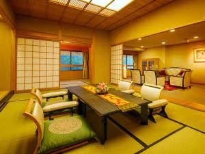 飛騨川沿いに佇む丹心の老舗宿 下呂温泉山形屋:◆特別室・きくすい◆上質な空間で、心行くまで休息をお愉しみください
