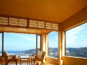 眺望と全室源泉かけ流し露天 南山荘紫乃