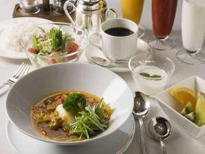 森のスパリゾート 北海道ホテル:朝食メニュー/スープカレーセット