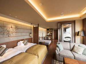 森のスパリゾート 北海道ホテル:プレミアムスパスイート
