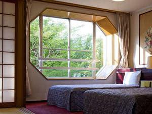 グリーンホテル:窓からの景色