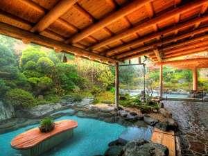 吉池旅館:御婦人庭園露天風呂