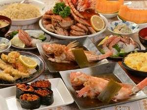 フンベHOFおおくま:キンキプラン夕食