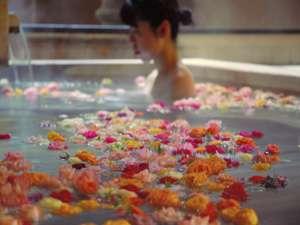 女性限定バラ風呂