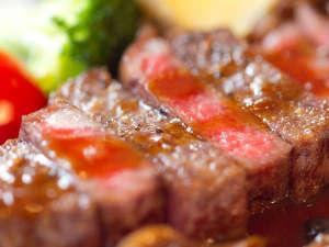島、海、望むみかんの丘の貸切湯 ボンファム:厳選した柔らかく美味しいステーキは人気!【希少部位イチボ】
