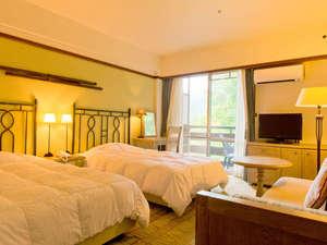 草津温泉 ホテルヴィレッジ:洋室や和洋室、ログハウスなど様々なお部屋があります。