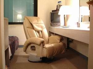 HOTEL WAKABA:【スーパーシングルルーム】電動マッサージチェアー(使い放題・無料)を装備、空気清浄機全室完備!