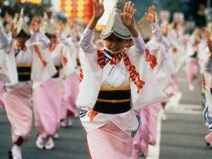 大歩危祖谷阿波温泉 あわの抄:毎週金土に、あわの抄では阿波踊りが見れる。