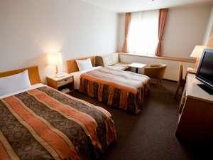 坂出グランドホテル:ゆったりとしたスペースのツインルーム