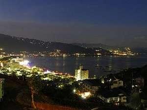 海のはなから見る網代湾の夜景