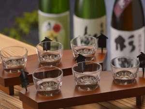 「利き酒」 3種類の日本酒を飲み比べ※別注