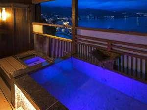 時間を旅する宿 海のはな:太陽の間/専用露天風呂(足湯あり)