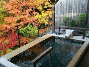 湯宿 梅川荘:≪貸切風呂≫露天風呂(秋~紅葉)贅沢な時間を♪