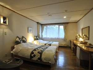 チミケップホテル:【ツインルーム】リゾート感覚で二人だけの時間を満喫。