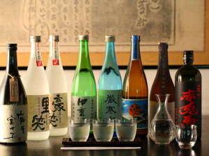 様々な種類の地酒もご用意しております。
