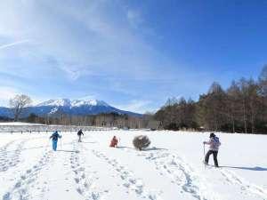 【木曽の冬】何処までも続く雪景色はとても幻想的。