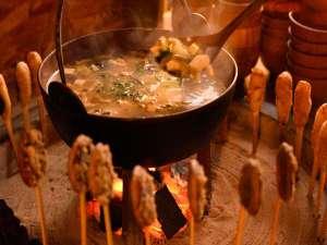安比八幡平の食の宿 四季館 彩冬:ここ八幡平にこないと食べることができない朝食!