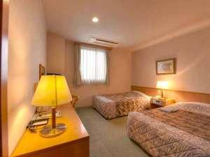 ホテルたちばな:*ツイン(客室一例)/カップルやご夫婦に◎きめ細やかなサービスでおもてなしいたします。