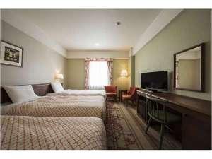 ホテル日航ハウステンボス:【禁煙】トリプルルーム(27平米)110cmX195cmのシングルベッド3台。ファミリーにお勧めのお部屋タイプ。
