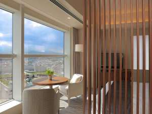 小田急ホテルセンチュリー相模大野:プレミアムダブルルームからの眺め