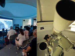 休暇村 館山:【天文台】大型スクリーンや外での「星座・天体説明会」や「大型天体望遠鏡での観察会」を毎晩開催!!