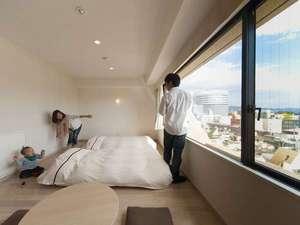岡山ビューホテル:≪あるご家族の滞在②≫見て見て~♪うわぁ~、いい景色だよ~(^O^)(写真は一例です)