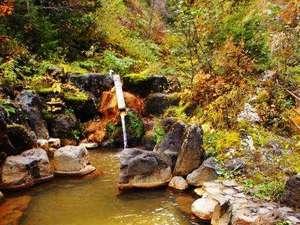 星降る里 濁河温泉 旅館御岳:「じゃらんnetクチコミ」で高評価を頂いておりますお風呂(渓谷露天風呂)