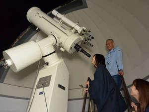 星降る宿  濁河温泉  旅館 御岳(りょかんおんたけ):屋上天文台での星空観測会は21時から(無料)。晴れた晩には毎日実施!