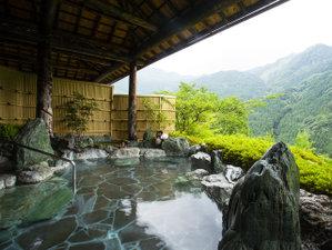 新祖谷温泉 ホテルかずら橋:天空露天風呂