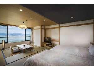 寛ぎの諏訪の湯宿 萃sui‐諏訪湖:スタンダード客室