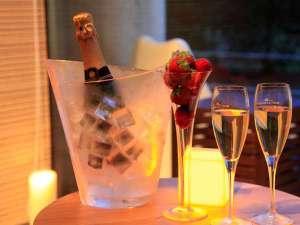 【記念日】シャンパン等のご予約も承っております※写真はイメージとなります